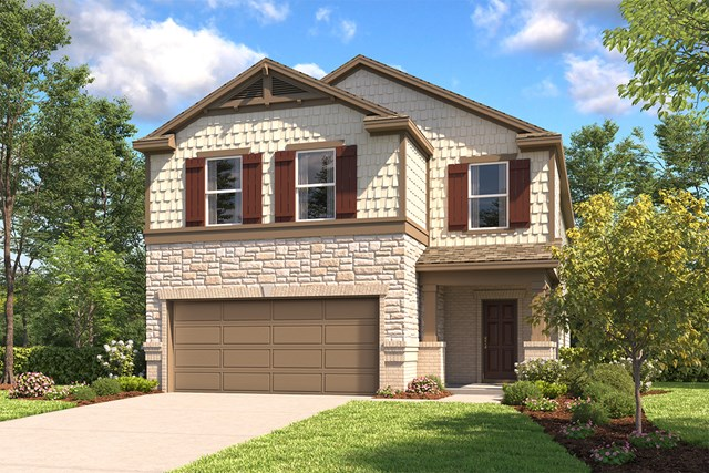 New Homes in New Braunfels, TX - The 2745 E