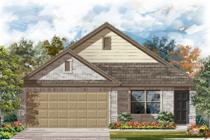 New Homes in New Braunfels, TX - The 1516 C