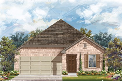 New Homes in New Braunfels, TX - The 1647 B