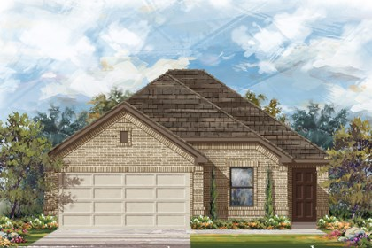 New Homes in San Antonio, TX - The 1694 B