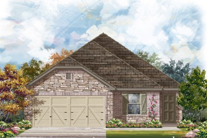 New Homes in San Antonio, TX - The 1694 D