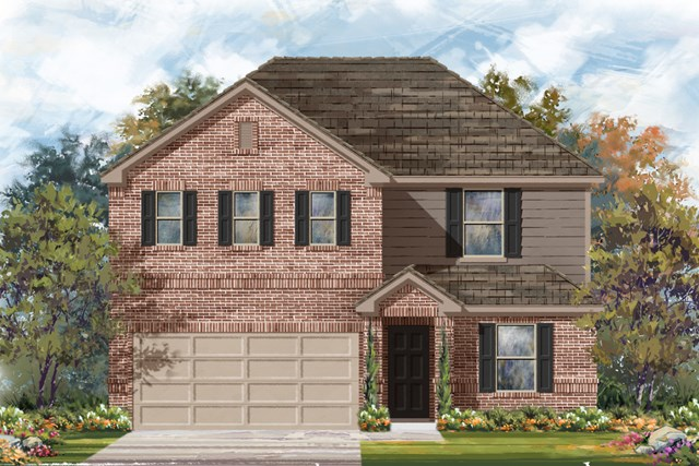New Homes in San Antonio, TX - The 2403 B