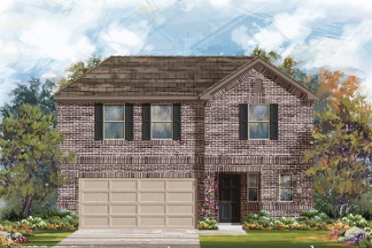 New Homes in New Braunfels, TX - The 2412 B
