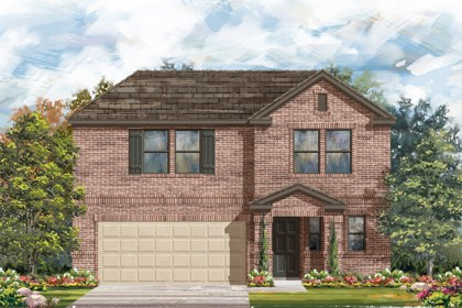 New Homes in New Braunfels, TX - The 2412 C