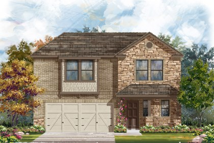 New Homes in New Braunfels, TX - The 2412 D