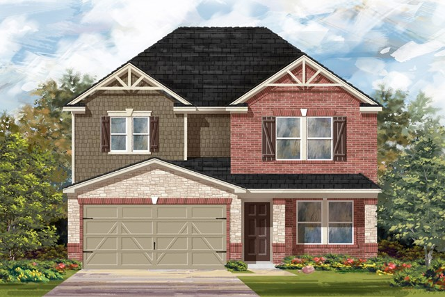 New Homes in New Braunfels, TX - The 2700 D