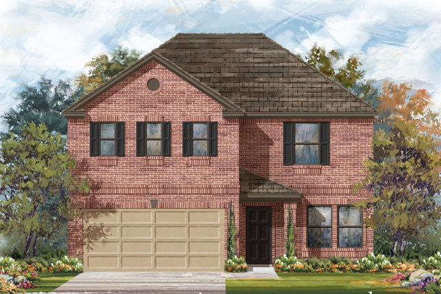New Homes in San Antonio, TX - Plan 2960 B