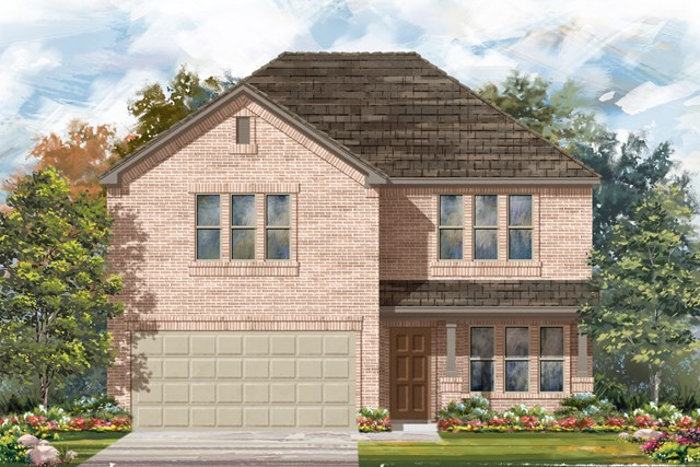 New Homes in San Antonio, TX - Plan 2960 C