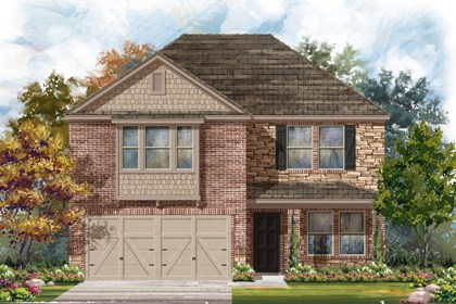 New Homes in New Braunfels, TX - The 2960 D