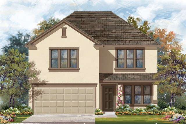 New Homes in San Antonio, TX - Plan 2960 E