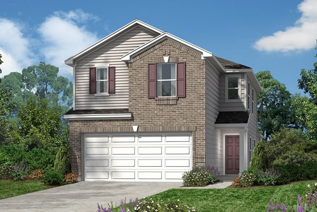 New Homes in San Antonio, TX - The 1663 D