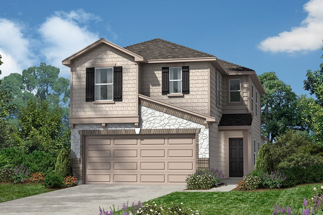 New Homes in San Antonio, TX - The 1663 E