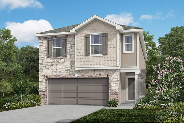 New Homes in San Antonio, TX - The 2315 E