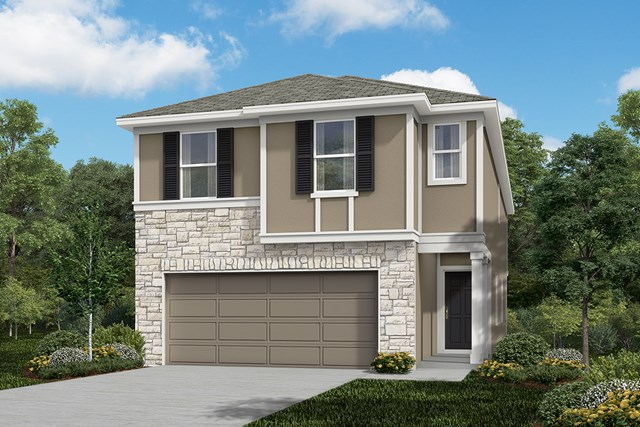 New Homes in San Antonio, TX - The 2315 F