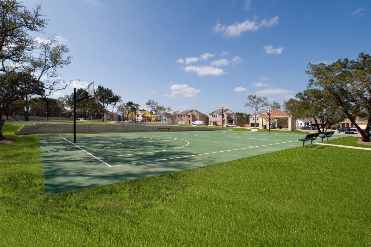 New Homes in San Antonio, TX - Fox Grove Community Sports Court