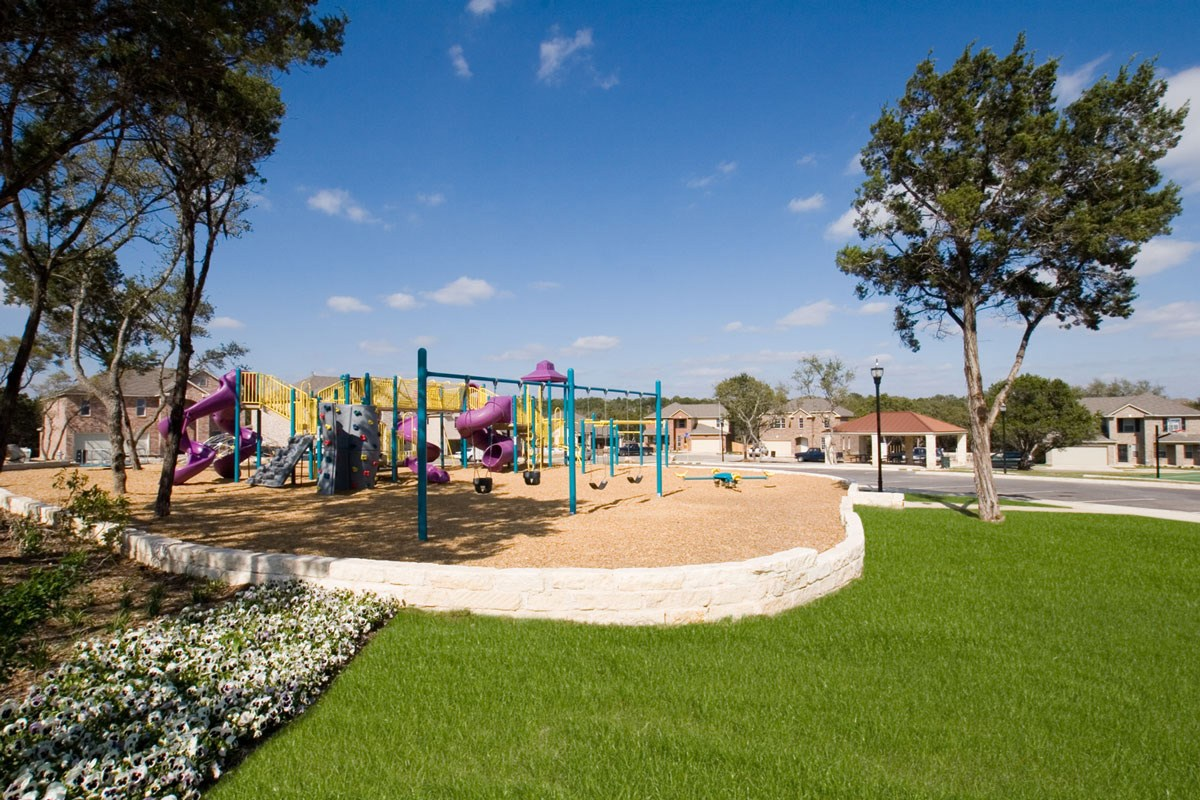 New Homes in San Antonio, TX - Fox Grove Community Playscape