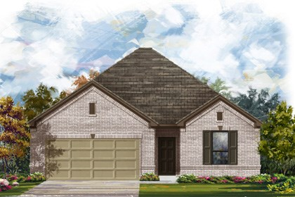 New Homes in Converse, TX - The 1675 1