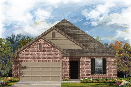 New Homes in Converse, TX - Plan 1675 2