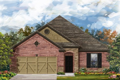 New Homes in Converse, TX - The 1675 3