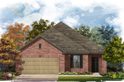 New Homes in Converse, TX - Plan 1710 1