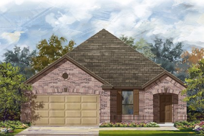 New Homes in Converse, TX - Plan 1710 2