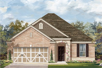 New Homes in San Antonio, TX - The 1792 C