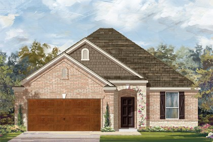 New Homes in Cibolo, TX - Plan 1792 C
