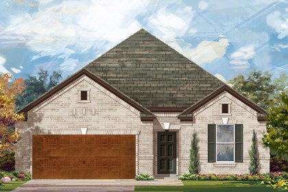 New Homes in Cibolo, TX - Plan 1965 A