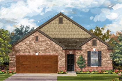 New Homes in Cibolo, TX - Plan 1965 C