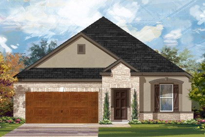 New Homes in Cibolo, TX - Plan 1965 D
