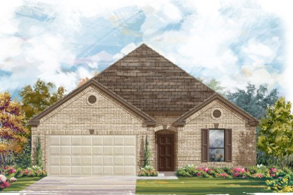New Homes in Helotes, TX - Plan 2004 A