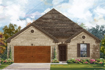 New Homes in Cibolo, TX - Plan 2004 A