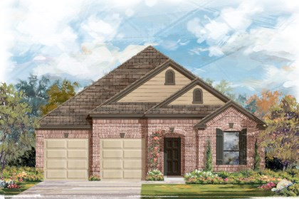 New Homes in Helotes, TX - Plan 2004 B