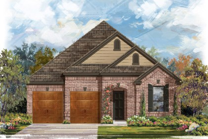 New Homes in Cibolo, TX - Plan 2004 B