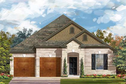 New Homes in Cibolo, TX - Plan 2004 C
