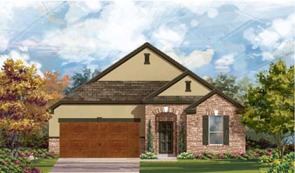 New Homes in Cibolo, TX - Plan 2004 D