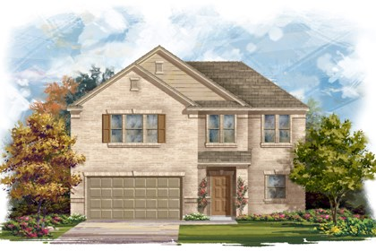 New Homes in Converse, TX - Plan 2183 1