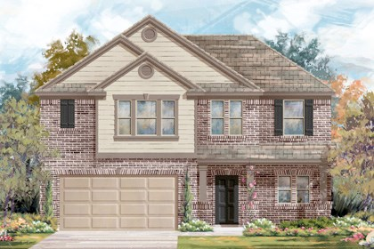 New Homes in Converse, TX - Plan 2183 2