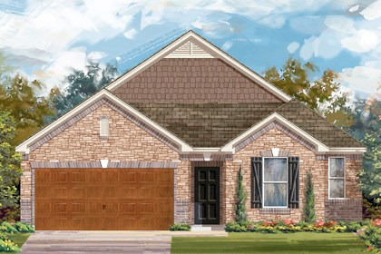 New Homes in Cibolo, TX - Plan 2382 C