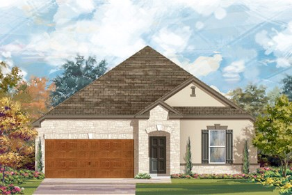 New Homes in Cibolo, TX - Plan 2382 D