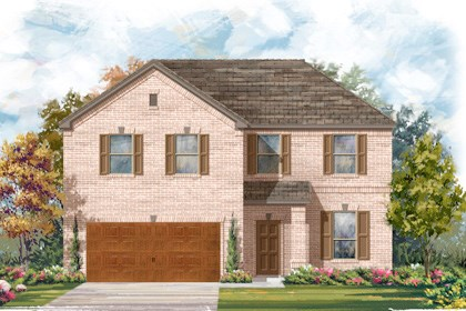 New Homes in Cibolo, TX - Plan 2469 A