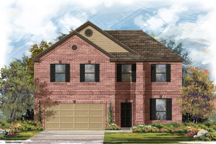 New Homes in Boerne, TX - Plan 2469 B