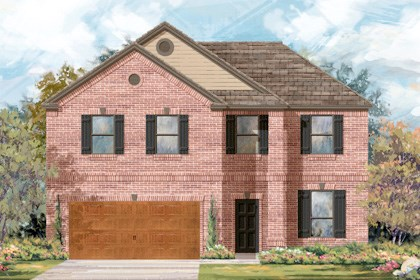 New Homes in Cibolo, TX - Plan 2469 B