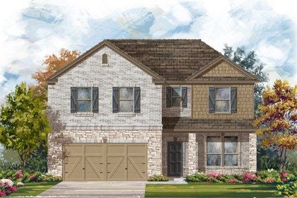 New Homes in Boerne, TX - Plan 2469 C