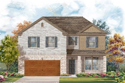 New Homes in Cibolo, TX - Plan 2469 C