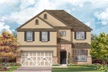 New Homes in San Antonio, TX - The 2469 D