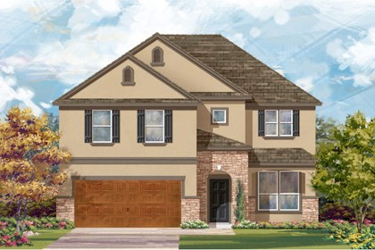 New Homes in Cibolo, TX - Plan 2469 D