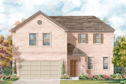 New Homes in San Antonio, TX - Plan 2502 A