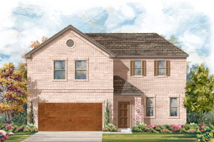 New Homes in Cibolo, TX - Plan 2502 - A