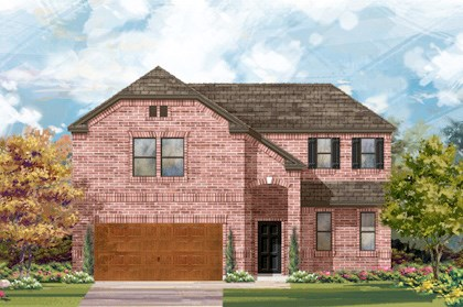 New Homes in Cibolo, TX - Plan 2502 - B